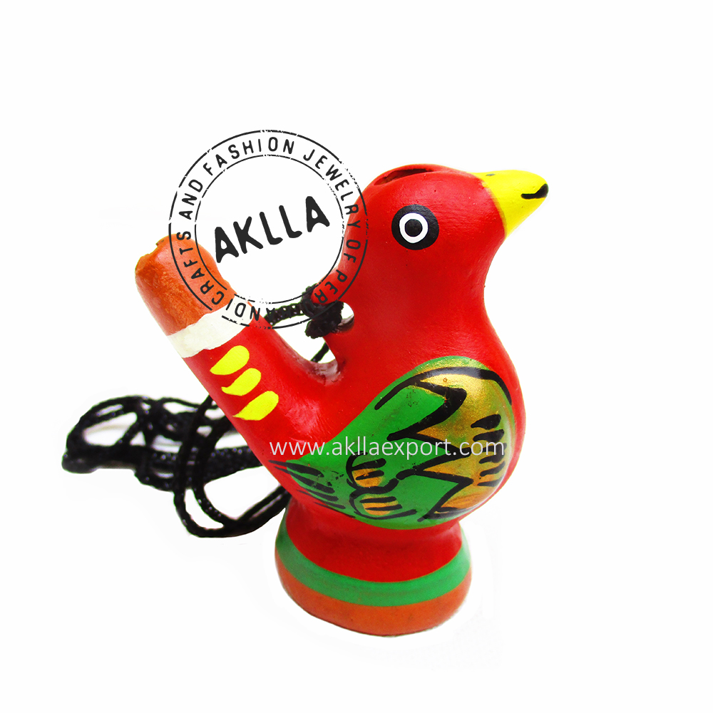 Ceramic hand-painted musical whistle water birds whistle JKU/_US